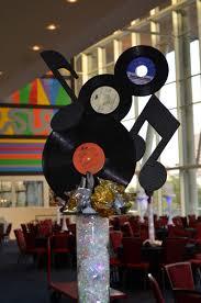 rock roll centerpiece by ideal decorators www