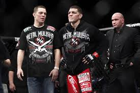 nate diaz says brother nick diaz not that interested in fighting