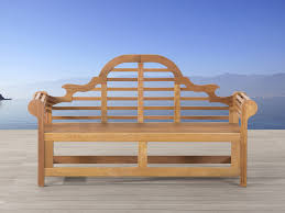 garden bench of white balau 180 cm java marlboro
