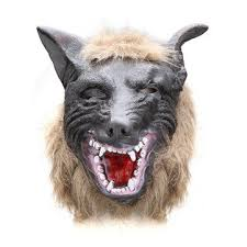 Werewolf Mask Halloween Horror Devil Dances Full Wolf Mask Or Wolf Gloves Sale