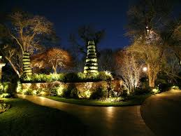 Led Landscape Lighting Wonderful Outdoor Led Landscape Lighting All Home Design Ideas