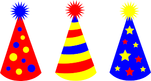 birthday hats childrens birthday party hats free clip