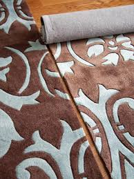 How To Make A Faux Fur Rug How To Make One Large Custom Area Rug From Several Small Ones Hgtv