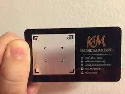 plastic business card design gallery