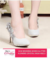 buy wedding shoes online malaysia glitters heels she s wedding