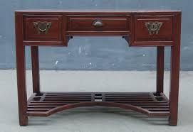 meuble bureau ancien bureau ancien 3 tiroirs zamu cyprès origine jiangsu approx 40
