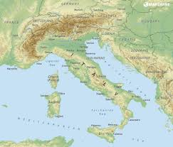 Large Siena Maps For Free by Geographical Map Of Italy