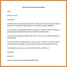 sample donation letter format efficiencyexperts us