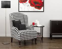 white wing chair slipcover furniture unique black and white wingback chair slipcover with 2
