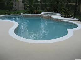 concrete pool deck paint ideas modern interior design inspiration