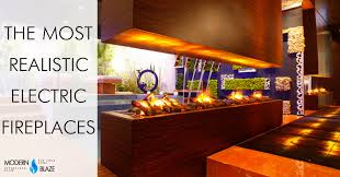Realistic Electric Fireplace 4 Most Realistic Electric Fireplaces New Water Vapor Technology
