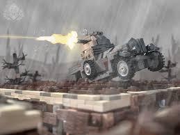 lego rolls royce rolls royce armored car gray brickmania toys