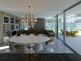 Chandelier Above Dining Table Contemporary Home Designs Gorgeous Chandelier Above The Dining
