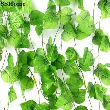 artificial plants 230cm 7 5 ft artificial plants green leaves artificial