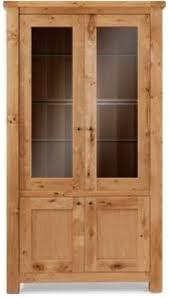 Oak Glazed Display Cabinet Display Cabinets