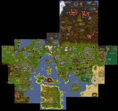 Oldschool Runescape World Map by Rs 2007 Map My Blog