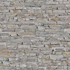 rough layered stone wall top texture
