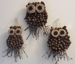 pine cone decoration ideas pine cone owl craft crafthubs nature owl crafts sugar