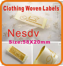 Create Your Own Clothing Labels Online Compare Prices On Custom Embroidered Labels Online Shopping Buy