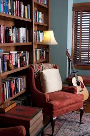 interesting vintage home reading library room design inspiration
