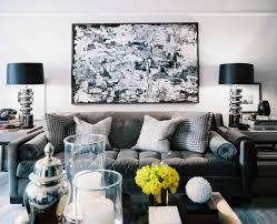 black white and grey living room u2013 modern house