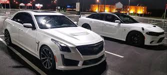 cadillac cts supercharged dodgeboost supercharged domestic sedan showdown stock 2016
