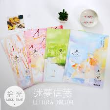 writing paper set compare prices on writing paper set online shopping buy low price 6 sheet letter paper 3 pcs envelopes cartoon cat letter pad set set writing