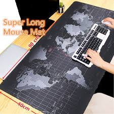 map pad 900x400x2mm large size map mouse pad for laptop computer