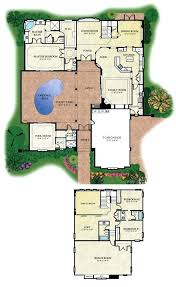adobe house plans with courtyard mexican style house plans back style house mexican house style