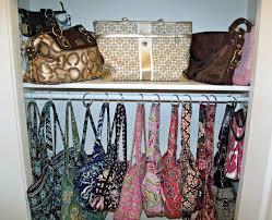 modern purse organizer in closet roselawnlutheran