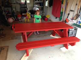 this old house picnic table build picnic table plans this old house diy fun woodshop projects