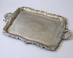 wedding serving trays lots of silver trays with paper doilies and multicolor cupcakes