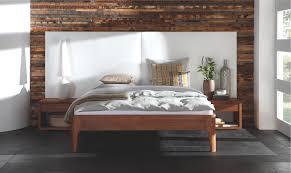 bed habits hoofdborden hasena oak line met hoofdbord avipa en bedpoten xylo nachtkastje