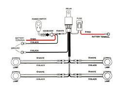 car spotlight wiring diagram