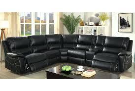 Black Leather Sleeper Sofa Black Leather Sectional Recliner Sleeper Sofa Queen U2013 Euro Screens