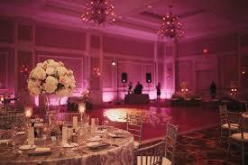 uplighting for weddings waldorf astoria orlando wedding venue pink wash uplighting