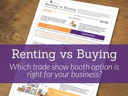 renting a photo booth renting vs buying which trade show booth option is right for your