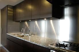 kitchen backsplash stainless steel stainless steel backsplash panel kitchen countertops and backsplash