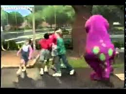 barney dinosaur sings rude song