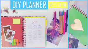 diy how to make your own planner organizer book تعلمي كيف تصنعي