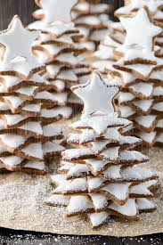 gingerbread christmas trees recipe baked by an introvert