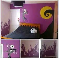 Nightmare Before Christmas Room Decor Nightmare Before Christmas Wall Mural Finished By Anaseed Lilly