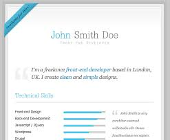 resume in html format updated resume format download free