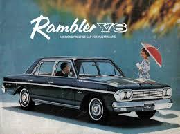 rambler car 1962 amc rambler v8 brochure