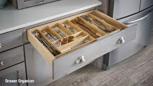 schuler cabinetry kitchen cabinets u2013 wooden drawer organizer youtube