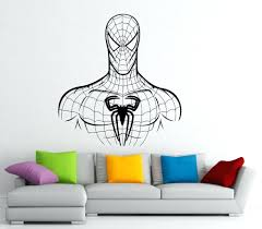 wall ideas vintage spiderman wall decor spiderman wall