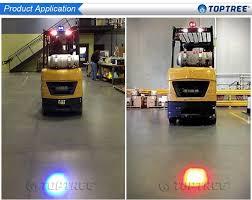 blue warning lights on forklifts blue light forklift blue safety light warning light red arrow beam