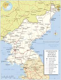 World Map Korea Political Map Of North Korea Nations Online Project