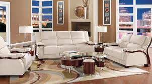 livingroom pc picture of park row white 5 pc living room from furniture
