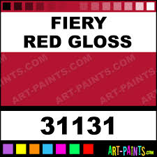 fiery red gloss artist airbrush spray paints 31131 fiery red